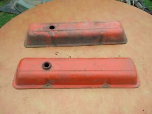 Vintage Oem Original Chevy Small Block Valve Covers 283 307 327 350