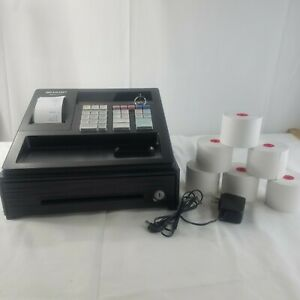 Sharp Small Business Electronic Cash Register Bundle Model Xe a107
