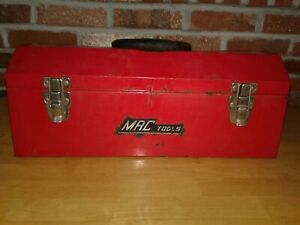 Mac Tools Tool Box W Tray Handle Carring Box W Latches Lockable