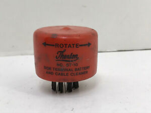 Vintage Thexton No St 10 Side Terminal Battery And Cable Cleaner