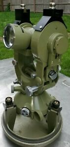 Wild Heerbrugg T2 E Serial 131567 1969 Theodolite bullet Case super Clean
