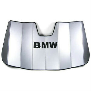 Genuine Bmw 2000 2006 E53 X5 Foldable Uv Sunshade 82110008342