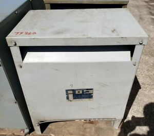 Hevi duty T2h30 30 Kva 480 208y 120 Volts 3 Phase Transformer