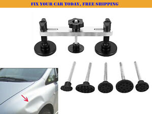 Car Accesories Dent Removal Tool Paintless Repair Puller Bridge Auto Kits Pdr