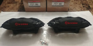 Gt500 Cobra Calipers 07 14 Nos New Ford Mustang Front Brembo Motorcraft W Pads
