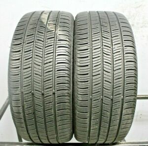 Two Used 225 50r17 2255017 Continental Conti Pro Contact Ssr Bmw 8 32 1j219