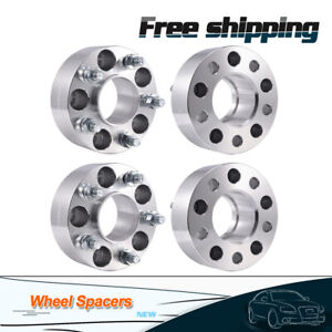 4pcs 2 Hubcentric Wheel Spacers 5x4 5 For Jeep Grand Cherokee Wrangler Liberty