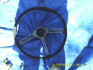 Mg Mgb Steering Wheel 1962 67 Spokes Great Shape Needs Recovering