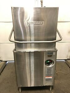 Hobart Am15 Select Single Rack High Temperature Dishwasher W Booster Heater