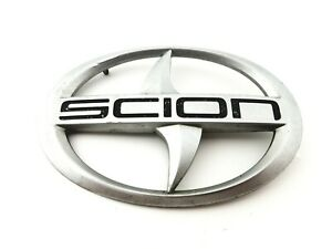05 06 07 08 09 10 Scion Tc Front Grille Emblem Badge Symbol Logo Sign Oem 2010