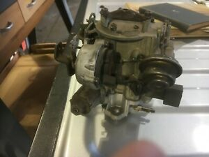 Rochester One Barrel Carburetor From Chevy 250 Inline 6 Cylinder