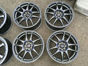 Jdm 15 Work Cr Kai 15 4x100 7j Mugen Spoon Te37 Ce28 Wheels Japanrims Civic