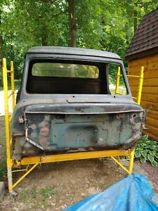 1955 Ford F 100 Has Rust Around Bottom