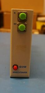Exfo Iq 3100 d50 Variable Attenuator 700 1350nm 62 5 125um Tested