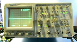 Tektronix 2465a 4 Channel 350 Mhz Analog Oscilloscope