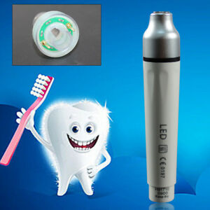 New Dental Led Ultrasonic Piezo Scaler Fiber Optic Handpiece Fit Ems Woodpecker