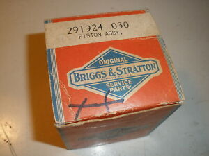 Vintage Nos Briggs Stratton Gas Engine 030 Over Piston Assembly 291924
