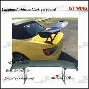 Fiber Glass Frp Js Racing Type 1 Style Rear Gt Wing 1600mm For S2000 Ap1 Ap2
