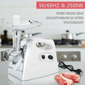 2500w Electric Meat Grinder Food Mincer Blender Sausage Maker Food Chopper Br