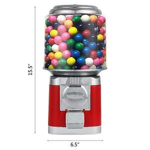 Bulk Candy Dispenser Vending Machine Gumball Bank Bubble Gum Ball Snacks
