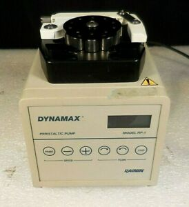 Dynamax Rainin Rp 1 Digital Bi directional Variable speed Peristaltic Pump