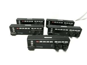 Lot Of 5 Motorola Remote Control Head Only For Spectra Astro Hln6432d