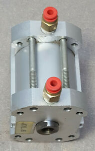 Smc Pneumatic Cylinder Ncdq7a150 150dc Double Acting Compact Air 200 Psi