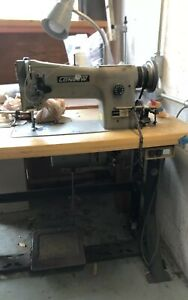 Consew 206rb 3 Industrial Sewing Machine With Stand And Set Up
