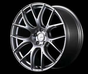 Rays Homura 2x7ag Wheels 19x8 0j 9 0j 38 38 Silver For Lexus Is gs From Japan