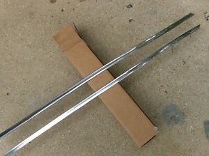 1968 1969 1970 Dodge Charger Sail Panel Outside Molding Left And Right