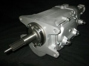 Muncie M 22 Transmission New Gears All New Parts Rare Drivers Side Speedo