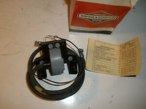 Vintage Nos Briggs Stratton Gas Engine Armature 392329