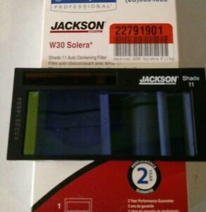 new Jackson Huntsman Solera W30 Auto Darkening Welding Filter Lens Shade 11