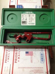 Nice Greenlee 796 Cable Wire Bender Bending Kit Ratcheting 7195