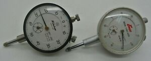 Mitutoyo 2415 08 Dial Indicator 001 500 And Enco 682 03 4 001 Lot Of 2