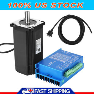 Hss86 Hybrid Servo Driver Nema34 12n m Closed loop Stepper Servo Motor Set Us