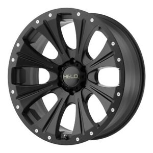 18 Inch Silverado Sierra 6 Lug 6x139 7 6x5 5 Black Wheels 18x9 18mm 4 Rims
