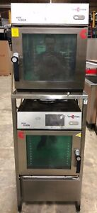 2015 Cleveland Double Convotherm Model Oes 6 10 Mini Combi Ovens W Rack Nice