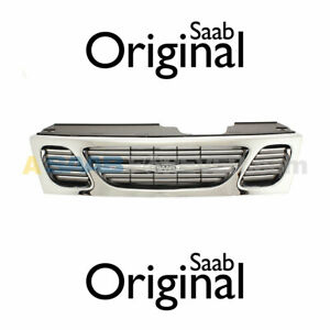 New Saab 9 5 Front Upper Grille Assembly 1999 2001 2000 Genuine Oem 4677191