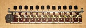 Precision Apparatus 912 Tube Tester Selector Switch Assembly