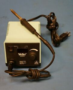 Weller Wesd51 Solder Station With Soldering Iron Esd Safe