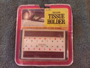 Vintage Hollywood Accessories Deluxe Tissue Holder No 824