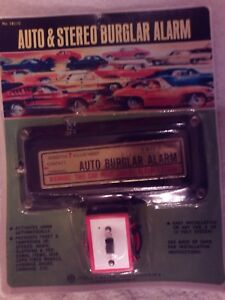 Vintage Hollywood Accessories Auto Stereo Alarm Nos G M Ford Mopar