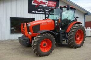 2012 Kubota M135gx Tractor 697 Hrs 135 Hp Cab Heat Air 540 1000 Pto One Owner
