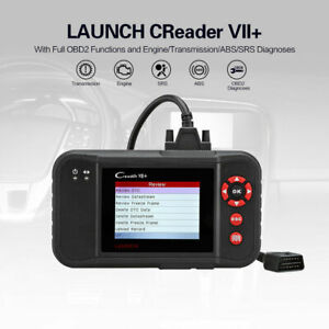 Launch X431 Vii Crp123 Obd2 Diagnostic Tool Scanner Engine Transmission Abs Srs