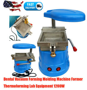 Dental Vacuum Forming Molding Machine Heat Former Thermoforming Lab Device 1200w
