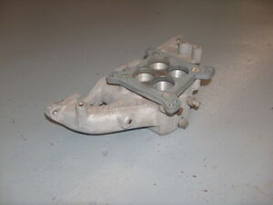 Ford Pinto 2 0l 2000cc Offenhauser Aluminum Intake Manifold 6000 W 4 Bbl Adapter