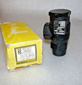 Henry Technologies 5602 Pressure Relief Valve 3 4 35 7 Lbs Air min 200psi New