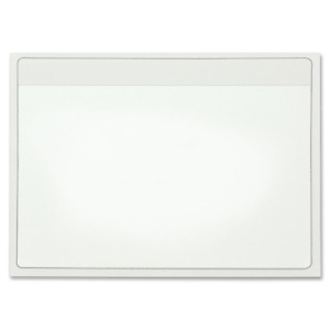 Cardinal Holdit Self adhesive 4 X 6 inch Index Card Pockets Clear 100 Per