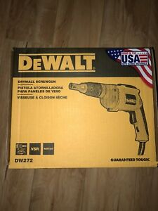 Dewalt Drywall Screwgun Dw272 Brand New